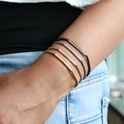 Stalen armband rose bol/bar wit kristal__1056305__1__thumb