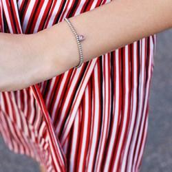 Stalen armband bol/hart roze kristal__1056351__1__thumb