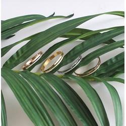 Stalen armband bangle gold wit kristal__1057348__2__thumb