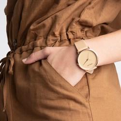 Donna Mae horloge met beige leren band__1056999__1__thumb