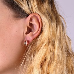 Stalen oorbellen roseplated light peach kristal__1058863__1__thumb