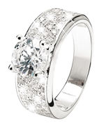 925 Silber-Ring mit Zirkonia (1008962)