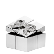 Verzilverd geschenkdoosje cadeau (1013550)