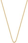 Eve gold plated ketting met venetiaanse schakel (1015594)