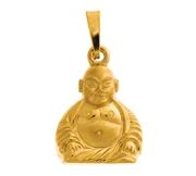 Geelgouden hanger buddha (1017531)