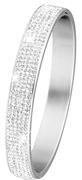 Stalen armband bangle met kristal (1017898)