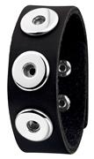 Stahl-Armband Chunks schwarz (1018353)