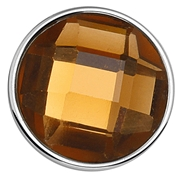 Stalen chunk kristal bruin/smokey (1018381)