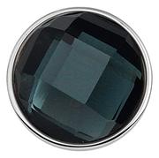 Stahl Chunk Kristall grau/schwarz (1018382)