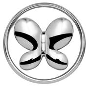 Stahl Chunk Schmetterling (1018397)
