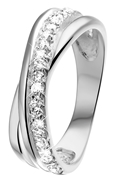Ring, 925 Silber, mit Zirkonia (1018864)