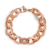 Tamaris stalen roseplated armband Camilla (1026274)