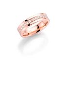 14K rosegouden trouwring  diamant Salvia H172R (1036481)