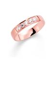 14K rosegouden trouwring  diamant Lupine H184R (1036487)