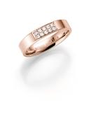 14K rosegouden trouwring  diamant Astrantia H188R (1036489)