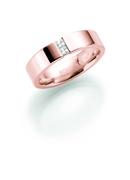 14K rosegouden trouwring  diamant  Medinilla H226R (1036505)