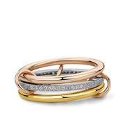 Fine by Super Stylish zilveren ring Cara (1037952)