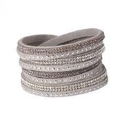 Byoux-Armband Leder-Optik mit Bling (1041040)