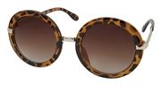 Montini zonnebril rond panterprint (1047344)