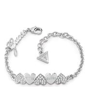 Guess rhodiumplated armband Swarovski kristal (1048150)