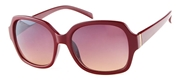 Bordeauxkleurige zonnebril (1049444)