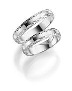 9 Karaat witte trouwring Nigella Dames H07W (1049502)