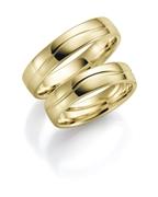375 Gold Trauring Iris Damen H119 (1049527)