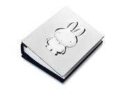 Versilbertes Fotoalbum Miffy (1049537)
