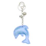Blauwe sleutelhanger dolfijn (1052358)