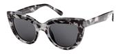 Marmerpatroon zonnebril met donkere glazen (1054416)