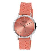 Regal Armbanduhr mit korallenfarbenem Kautschukband (1056650)