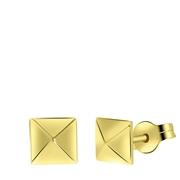 Ohrringe, 585 Gelbgold, Pyramide (1056842)