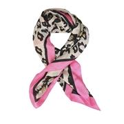 Sjaaltje met luipaardprint roze (1057123)
