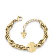 Guess vergoldetes Edelstahl-Armband CHAIN REACTION (1057594)
