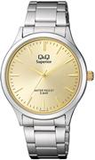 Q&Q Superior Armbanduhr mit Edelstahlarmband (1057631)