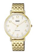 Q&Q Armbanduhr mit goldfarbenem Edelstahlarmband (1057845)