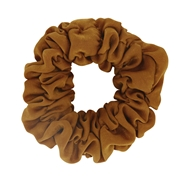 Donkergele scrunchie (1057966)