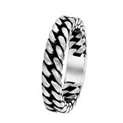Stalen ring schakel mat 7,5mm (1058725)