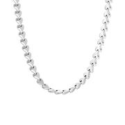 Halskette, 925 Silber, Kettenglied, Herz (1060061)