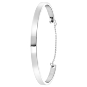 Stalen armband bangle graveerbaar (1060178)