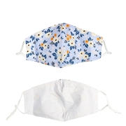Fashion mondmasker met bloemen (1061457)