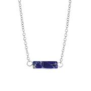Lapis Lazuli stalen ketting (1061583)