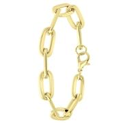 Goudkleurige bijoux armband ovaal (1062260)