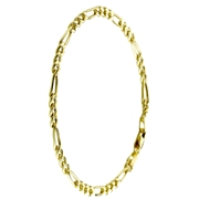 Gouden figaro herenarmband (20410515)