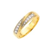 Diamanten Ring 10st 0,20ct (1003318)