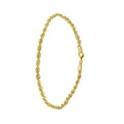 Geelgouden armband koord (1041249)