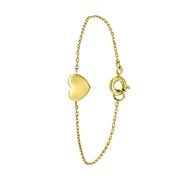 Silberarmband Herz vergoldet (1041575)