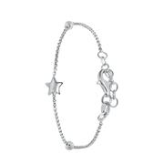 Silbernes Kinderarmband Stern (1044171)