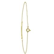 Armband aus 585 Gelbgold, Steg (1055239)