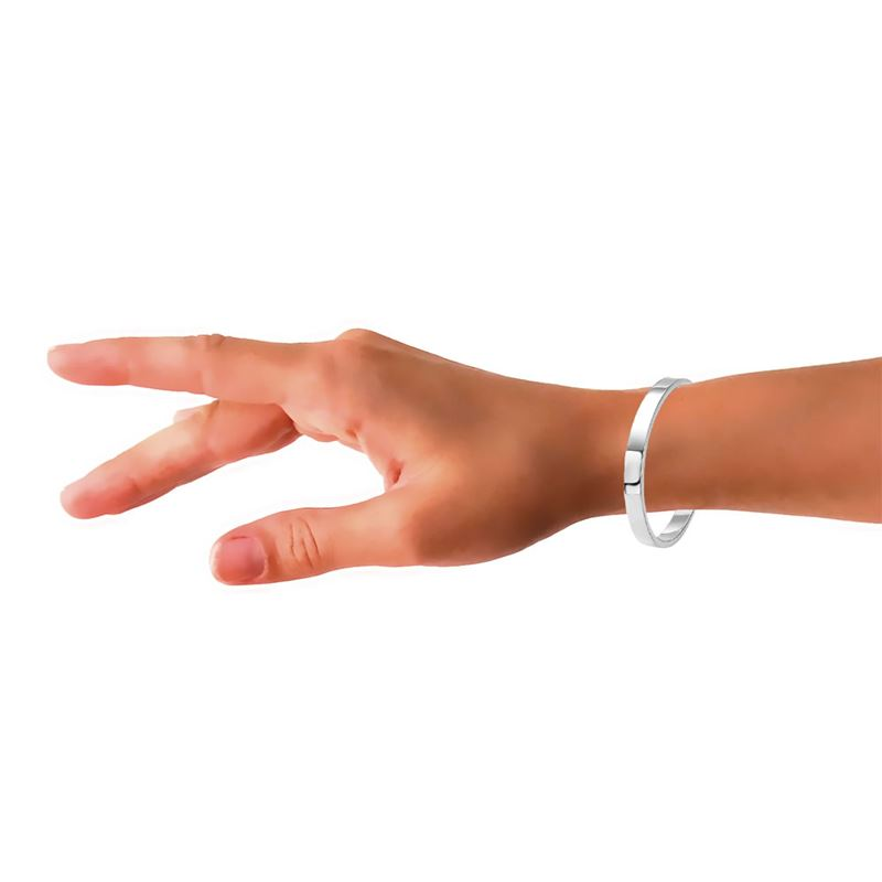 Zilveren armband bangle vlak__1013253__2
